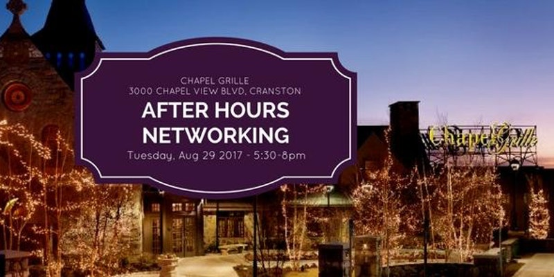 Statewide After Hours Networking at Chapel Grille