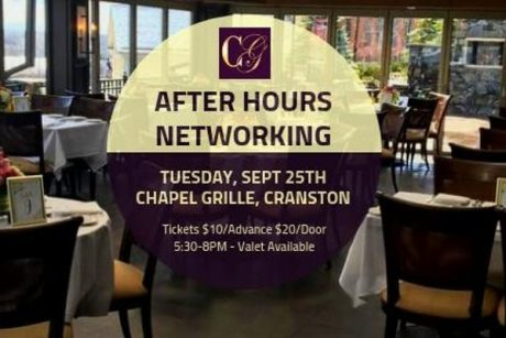 Networking at Chapel Grille Tuesday, September 25