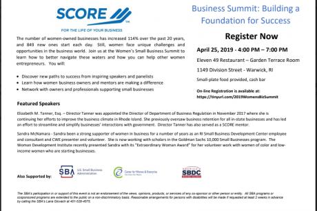 2019 Women's Small Business Summit