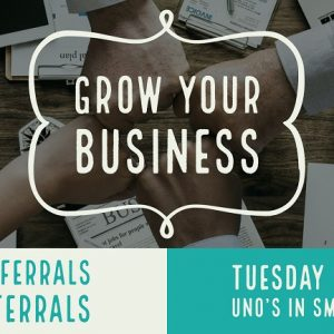 Business Referral Tuesday Morning