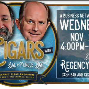 A Business Networking Event with Cigars + Uncly Jay