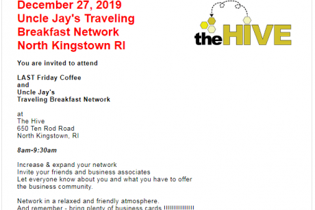 Uncle Jay's Traveling Breakfast Network at North Kingstown RI
