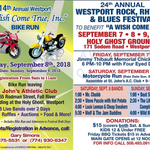 The Rock, Rhythm & Blues Festival Fundraiser for Wish Come True