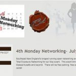 4th Monday Networking- July 23, 2019