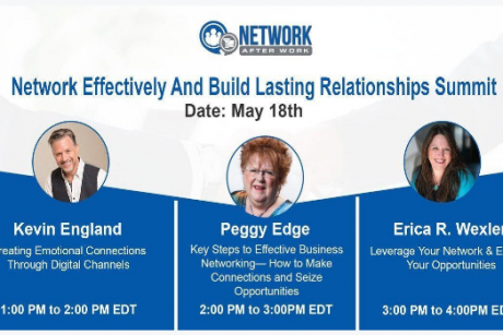 Summit: How To Network Effectively And Build Lasting Relationships